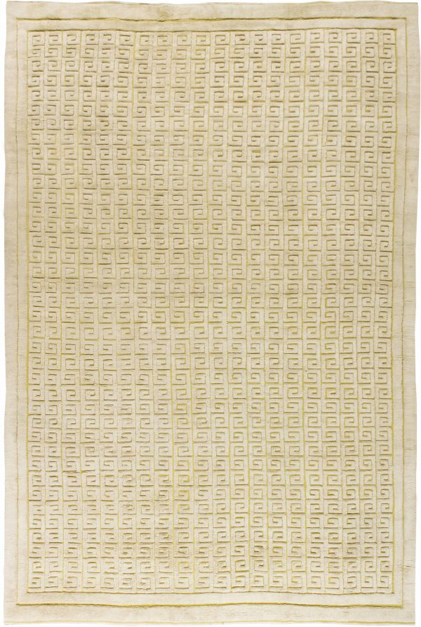 Swedish Half Pile Inspired Rug by Sigvard Bernadotte. N11661
