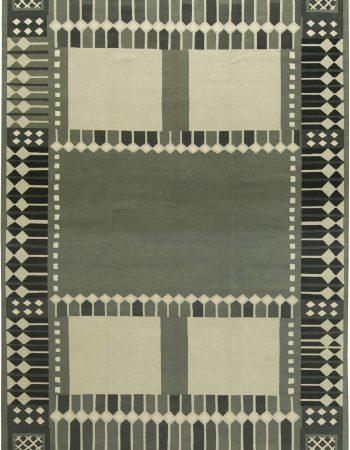 Swedish Flat Weave Rug N12112