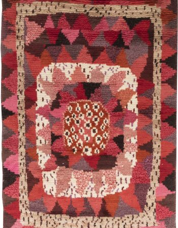New Swedish Flat Weave Rug N12109