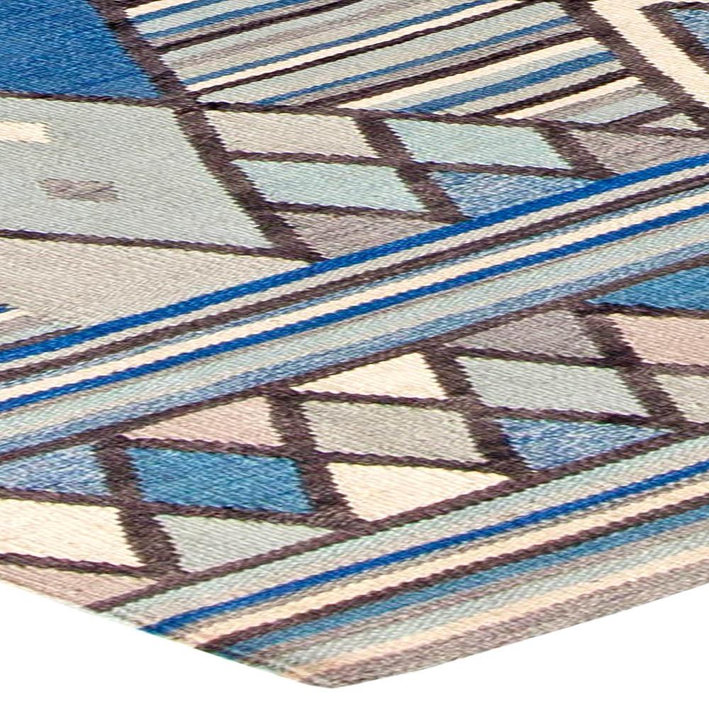 Modern Scandinavian Rug: Swedish Rug N11109 By Doris Leslie Blau