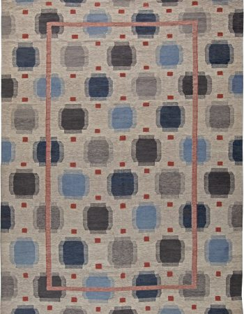 Oversized Swedish Design Rug N11156