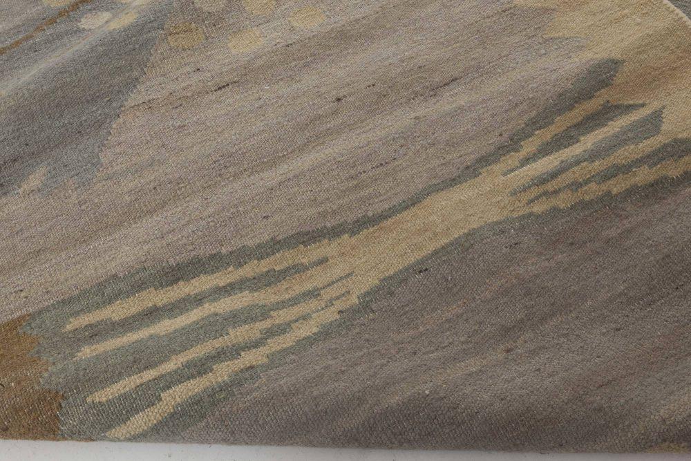 Swedish Design Flat-Weave Rug N11637