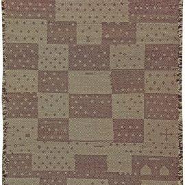 Modern Moroccan Flat-Weave Wool Rug N10870