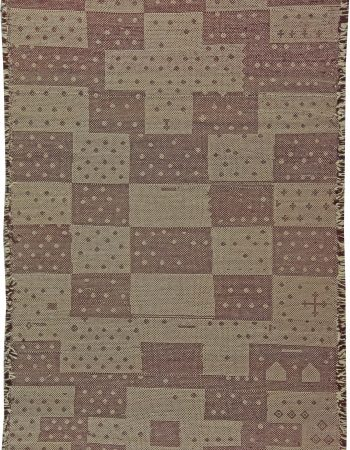 Modern Moroccan Flat Weave Rug N10870