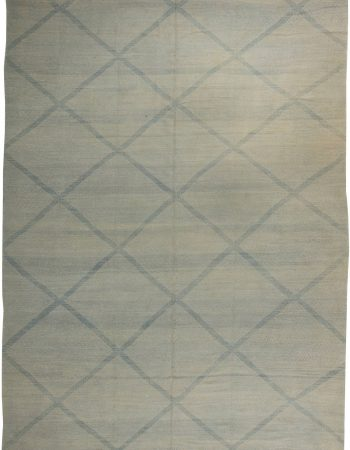Blue Deux Diamond  Rug II N10867