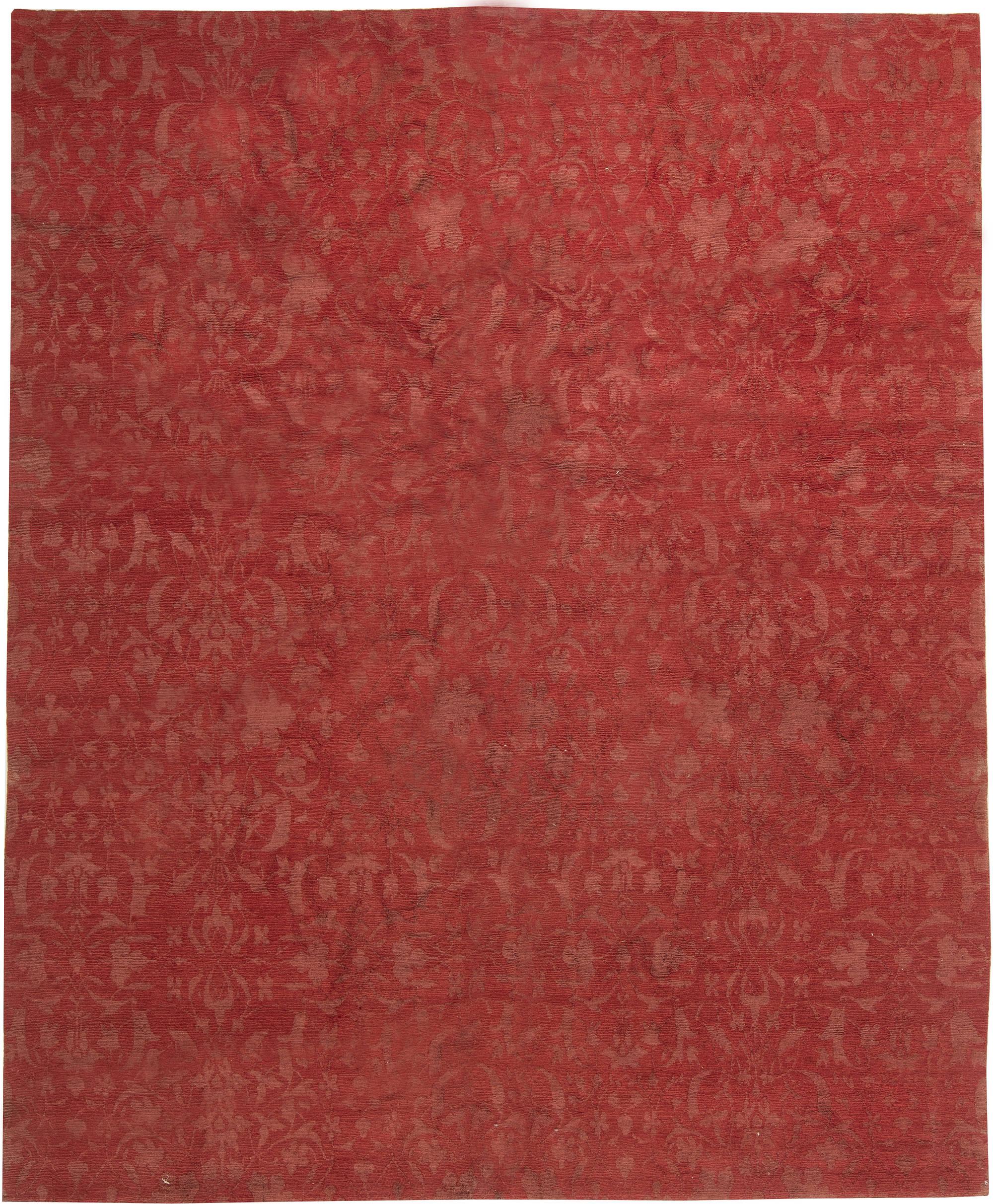 Modern European Inspired Tibetan Rug N11423