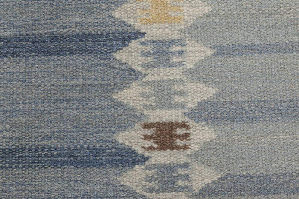 Custom Swedish Flat weave Runner N11598
