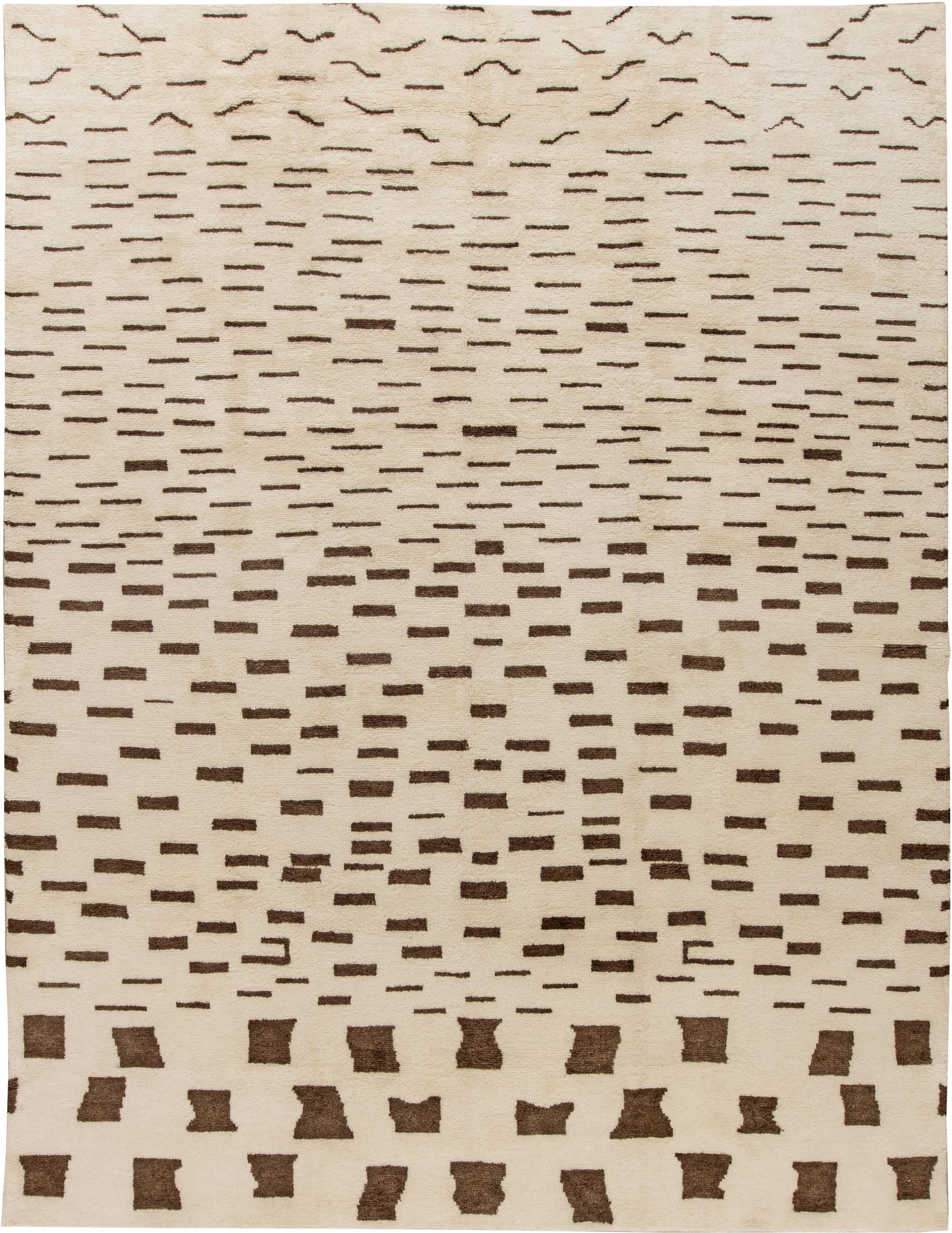 modern rug patterns. Brilliant Modern Modern Moroccan Rug N11369 Throughout Patterns R