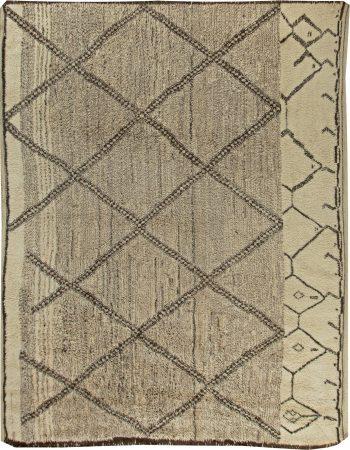 Modern Custom Moroccan Rug N11243