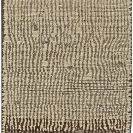 Small Tribal Style Moroccan Wool Area Rug N11224