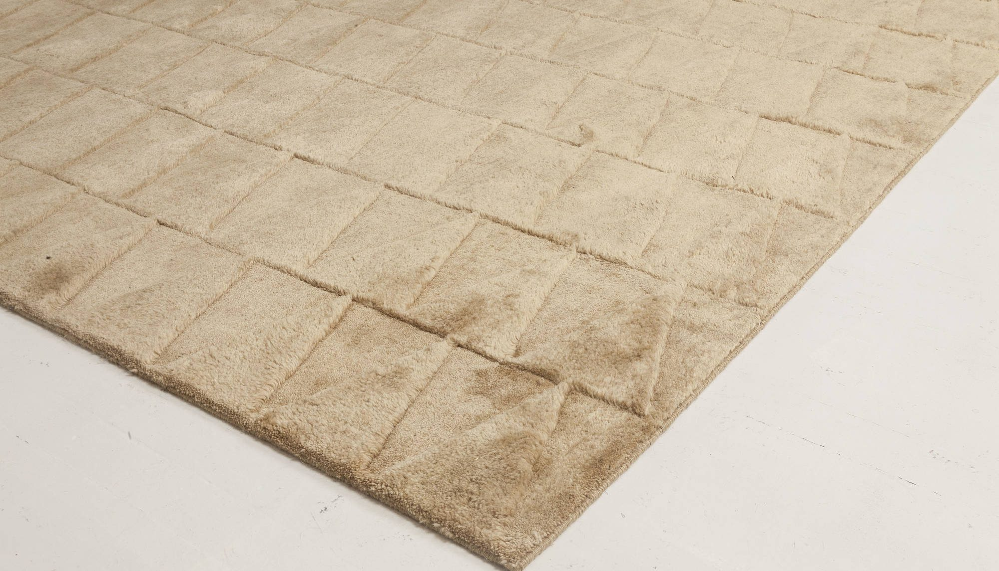 Steppe Rug in Cream and Ivory N11742