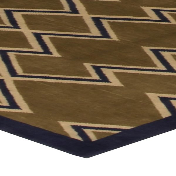 Aztec Dark Brown Rug N10532