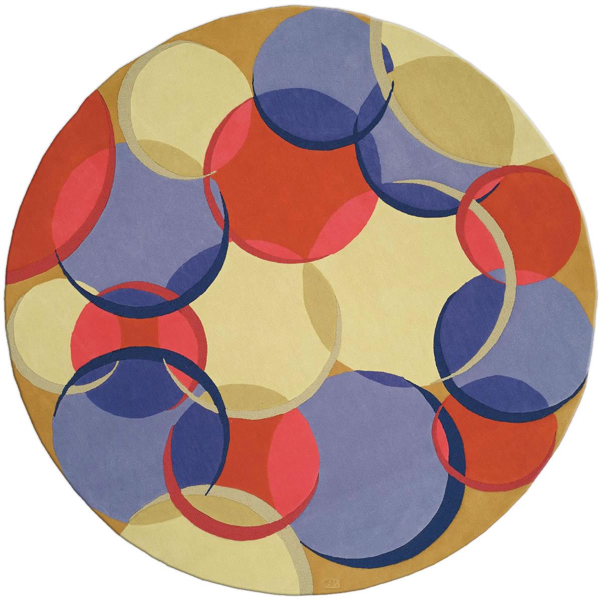Circular Coleman 21 Rug N0157