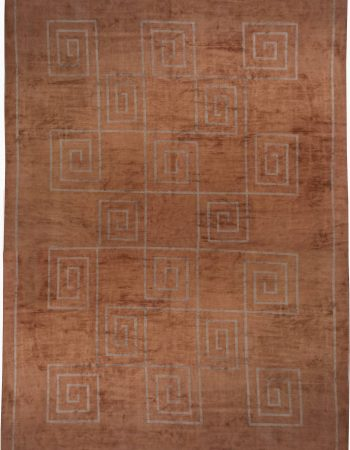 Tibetan Rug Greek Key N10155
