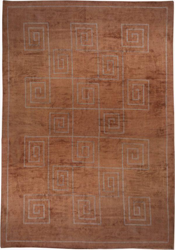Tibetan Rug Greek Key N10155