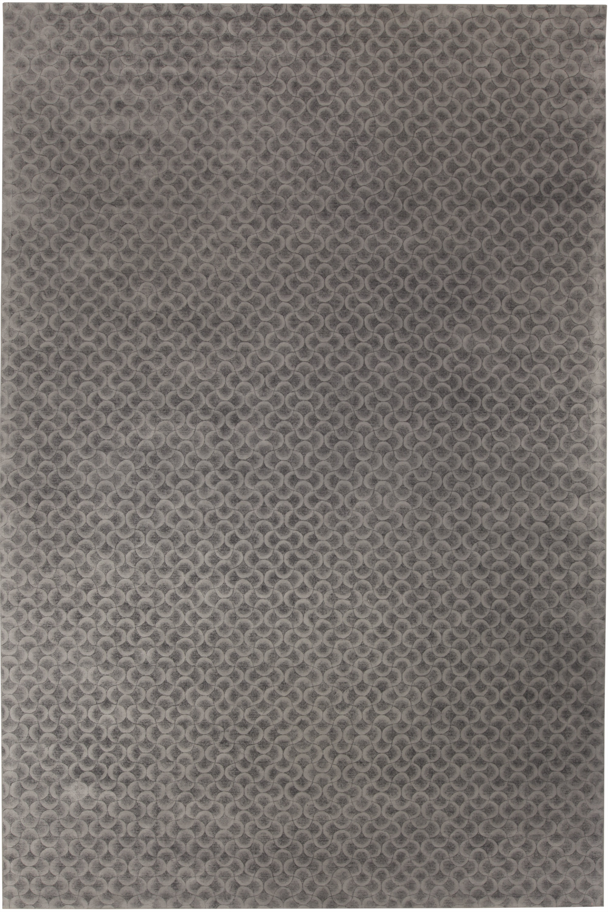 Gray Arches Rug N10737
