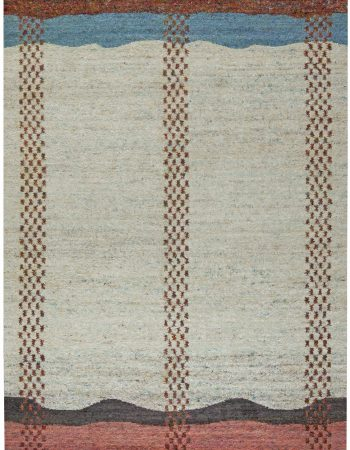 CONTEMPORARY FLAT WEAVE RUG N11862