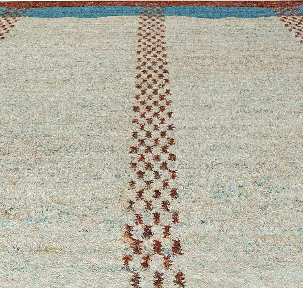Contemporary Abstract Jazz Rug by Brett Beldock N10750