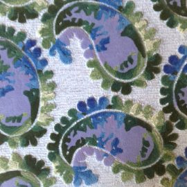 Tufted Watercolor Paisley N10447S