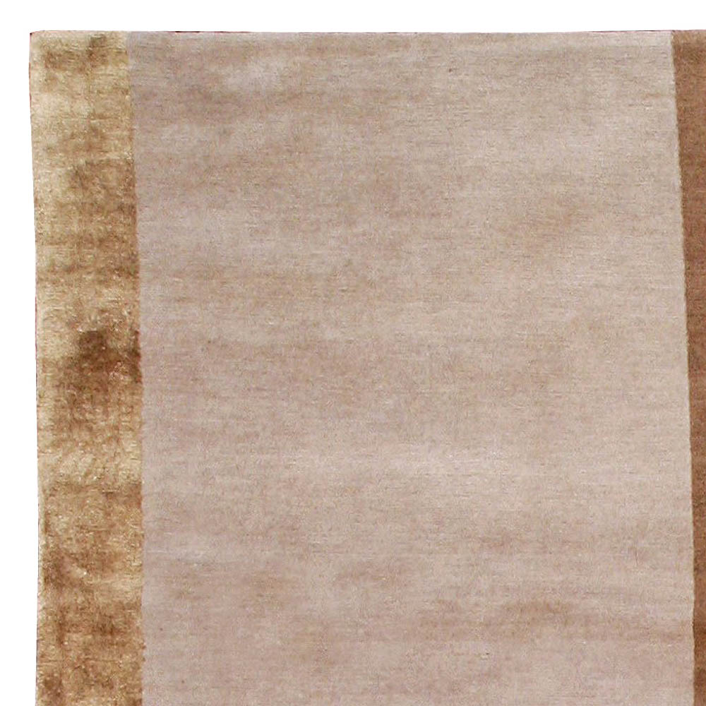 Contemporary Studio Luxe Geometric Pink, White, Brown and Beige Carpet N10945