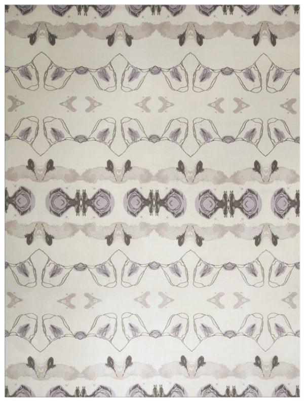 Moderne Eskayel Bali Stripe Teppich N10120