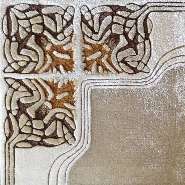 Tufted Silk Amaretto N10442S