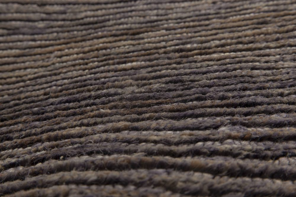 Modern Custom Hemp Brown Carpet N11559
