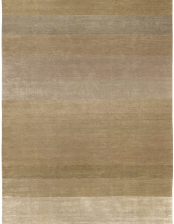 Tulu Nadu Alahambra Scaled Brown Hand Knotted Wool Rug N10335