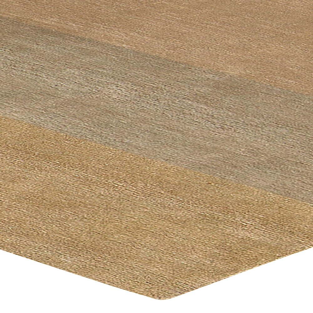 H20 Blush Light Beige, Brown & Gray Wool Rug by Brett Beldock N10726