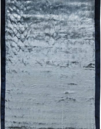 CONTEMPORARY SILK RUG N11534