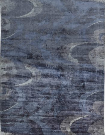 Contemporary Silk Rug N11505