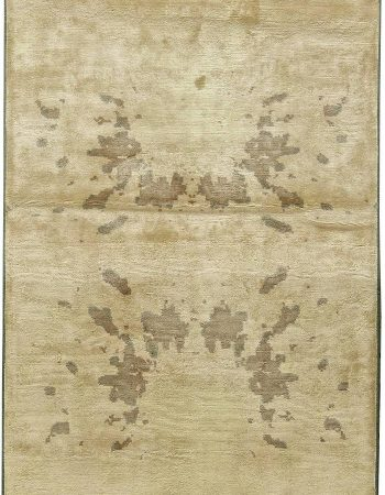 Contemporary Silk Rug N11123