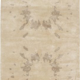 Contemporary Silk Rug N11401