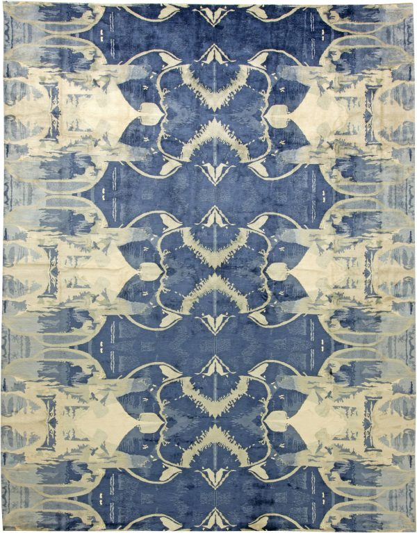 Contemporary Blucie Designed Rug N11283