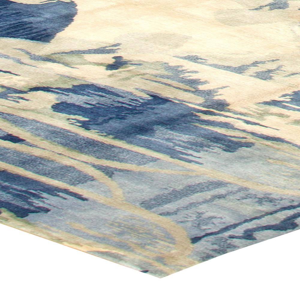 Contemporary Blucie Designed Rug N11283