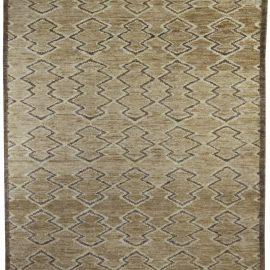 Brown Aztec Rug N10488