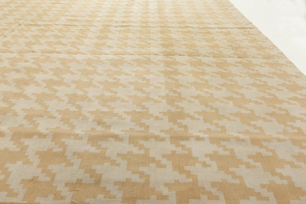 Contemporary Flat Weave Rug by Jeffrey Bilhuber N11426