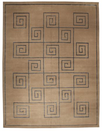 Tibetan Rug Greek Key N10084