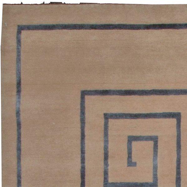 Tibetano Rug chave grego N10084