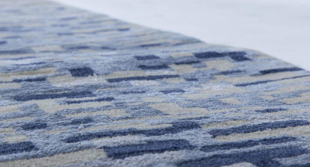 Blue Pool Tile Rug N11501