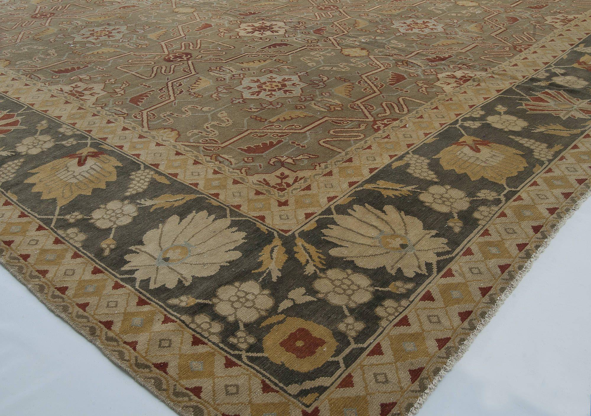 Oversized Oriental Inspired   Rug N11439