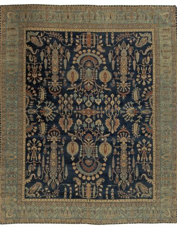 Persian Kirman Vintage Carpet BB5860