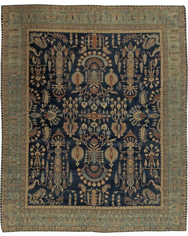 Persian Kirman Vintage Carpet BB5860