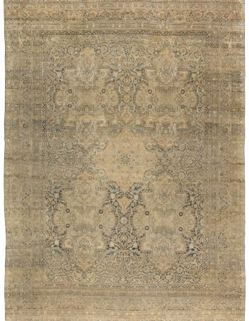 Persian Kirman Antique Rug BB5885
