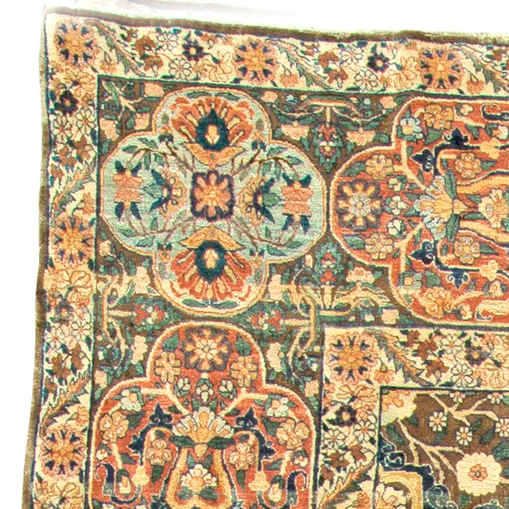 Antique Persian Kirman Rug BB5894
