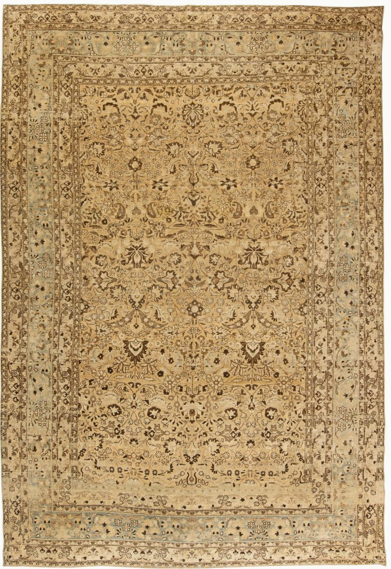 Antique Persian Meshad Rug Bb5770 By Doris Leslie Blau