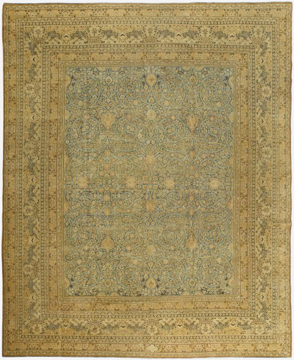 Antique Persian Mashad Rug BB5712