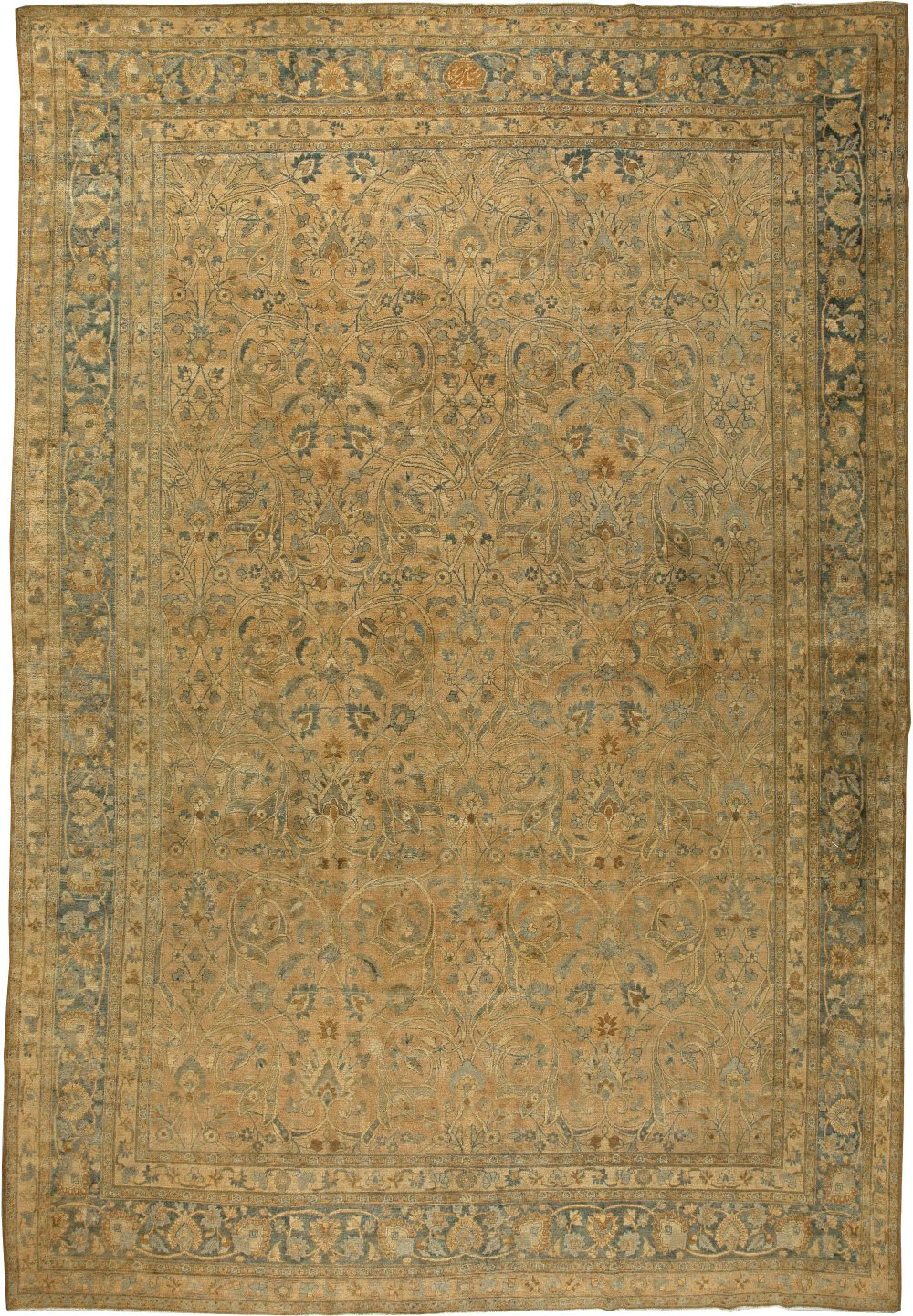 Antique Persian Meshad Rug (Size Adjusted) BB5782
