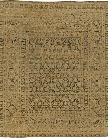Antike Perser Meshad Rug (Größe angepasst) BB5975