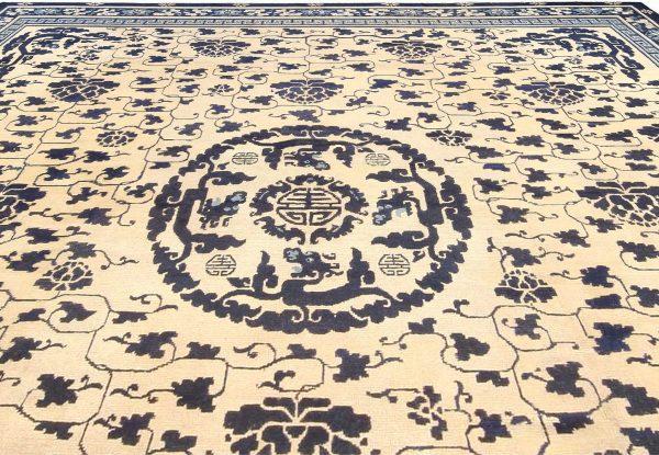 Vintage Chinese Carpet BB3707